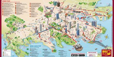 Sydney Kartta Kartat Sydney Australia